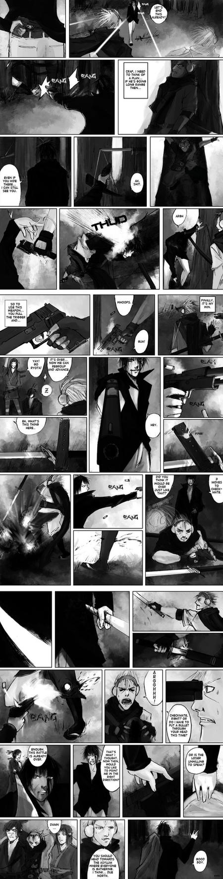 Endzone: Round 1 Pages 7-9 by Ma-sterSolly