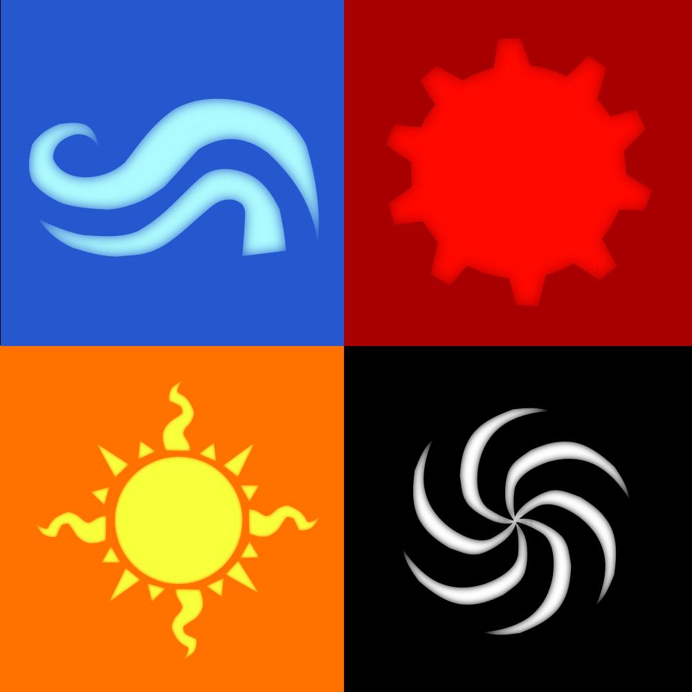 Homestuck - God Tier Symbols by LightningRaichu on DeviantArt