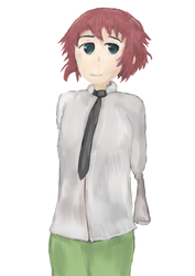 Rin from Katawa Shoujo