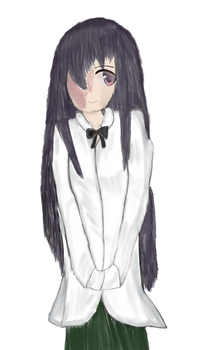 Hanako from Katawa Shoujo