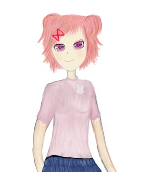 Natsuki with other clothes