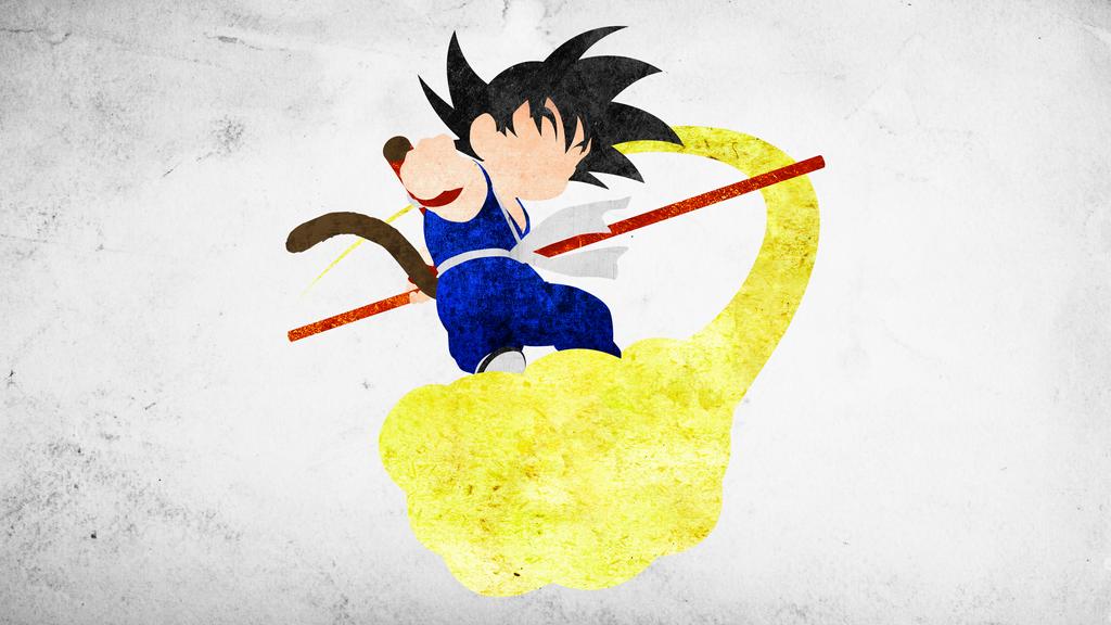 Kid Goku Minimalistic Wallpaper by KhUnlimited on DeviantArt