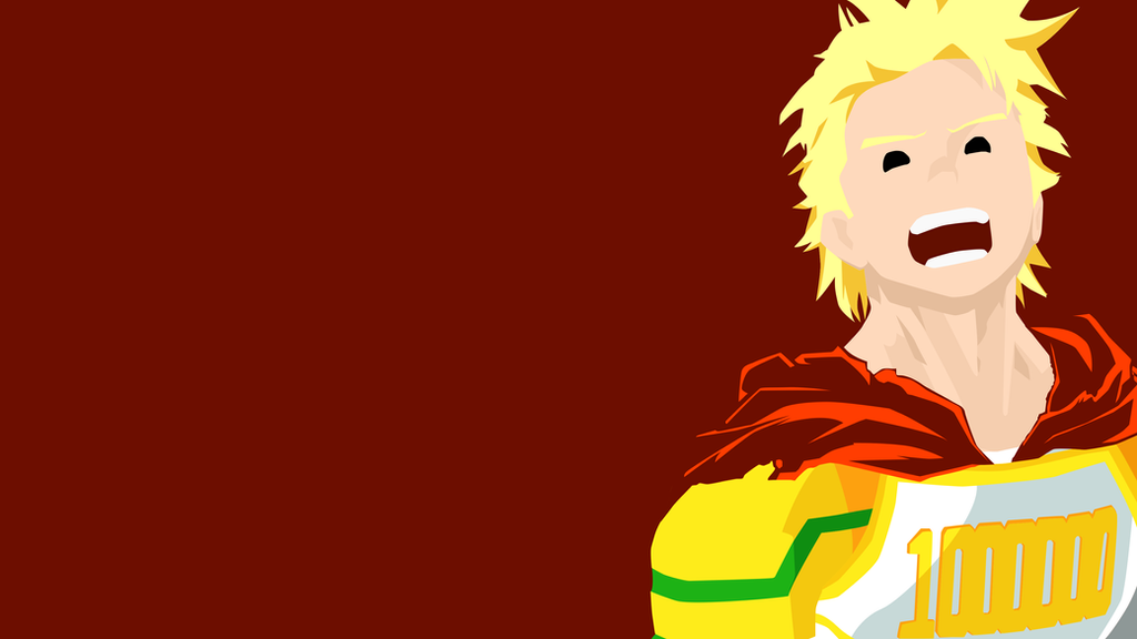 Mirio Togata Minimalistic Wallpaper By KhUnlimited On