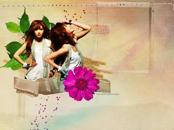 natural girl wallpaper by ashwaaag