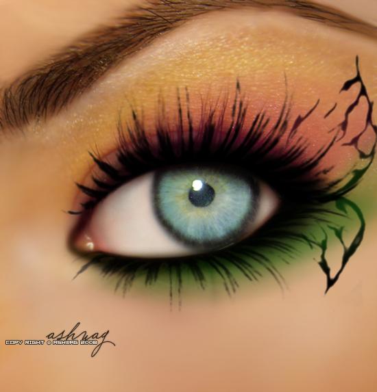 pretty eye by ashwaaag