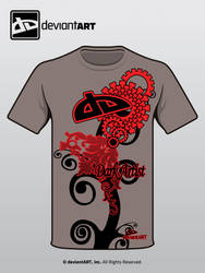 Drk Artist dA shirt Submission by diabloUNDERWRLD