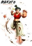 Makoto (Street Fighter - alternate costume)