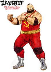 Zangief 2 (Street Fighter - alternate costume) by Decerf