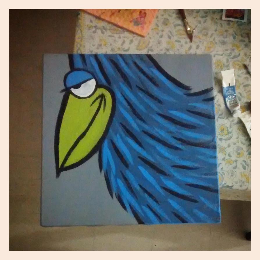 Smug Bird by rp31