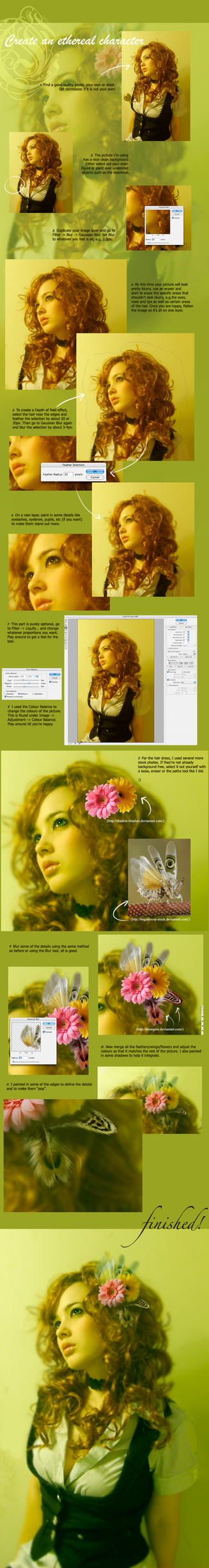 Photomanipulation Tutorial by acidlullaby