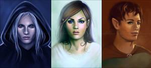 Commission: Portraits