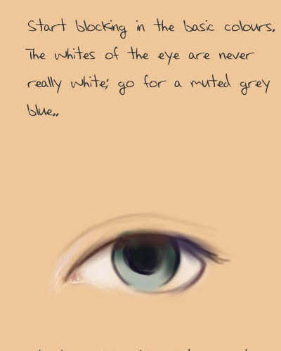 How to paint eyes by acidlullaby