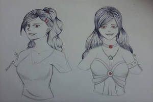 Some portraits (Astarosso and Luca)