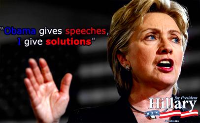 Vote Hillary 08' by ForestIlex