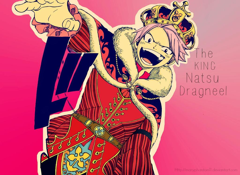 King Natsu Dragneel by maryphantom11