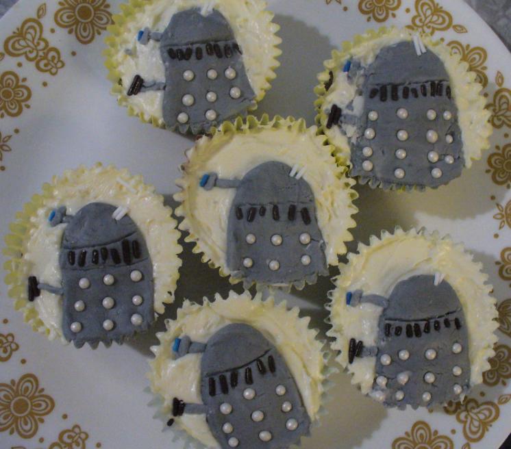 Dalek cupcakes by Folorn Faerie on DeviantArt