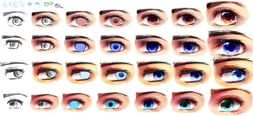 how to train your eyes 2014 by Endiria