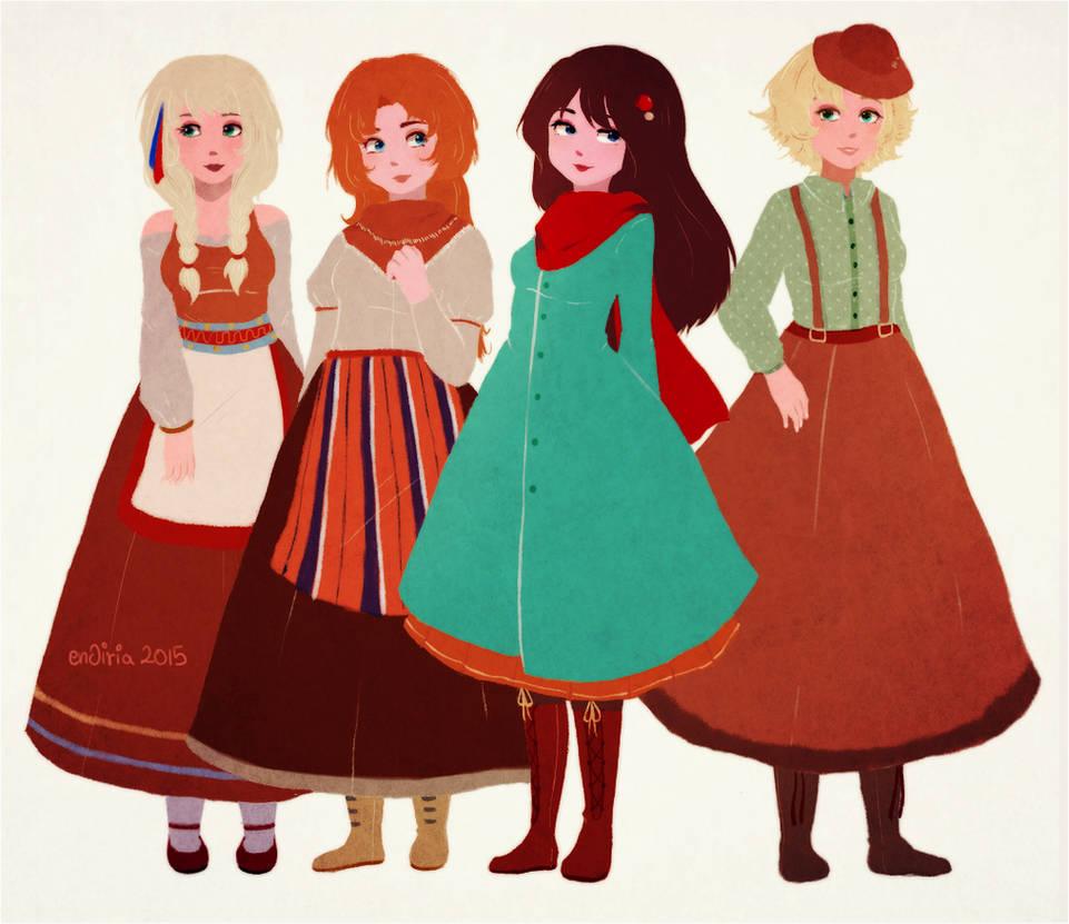 more nothern ladies