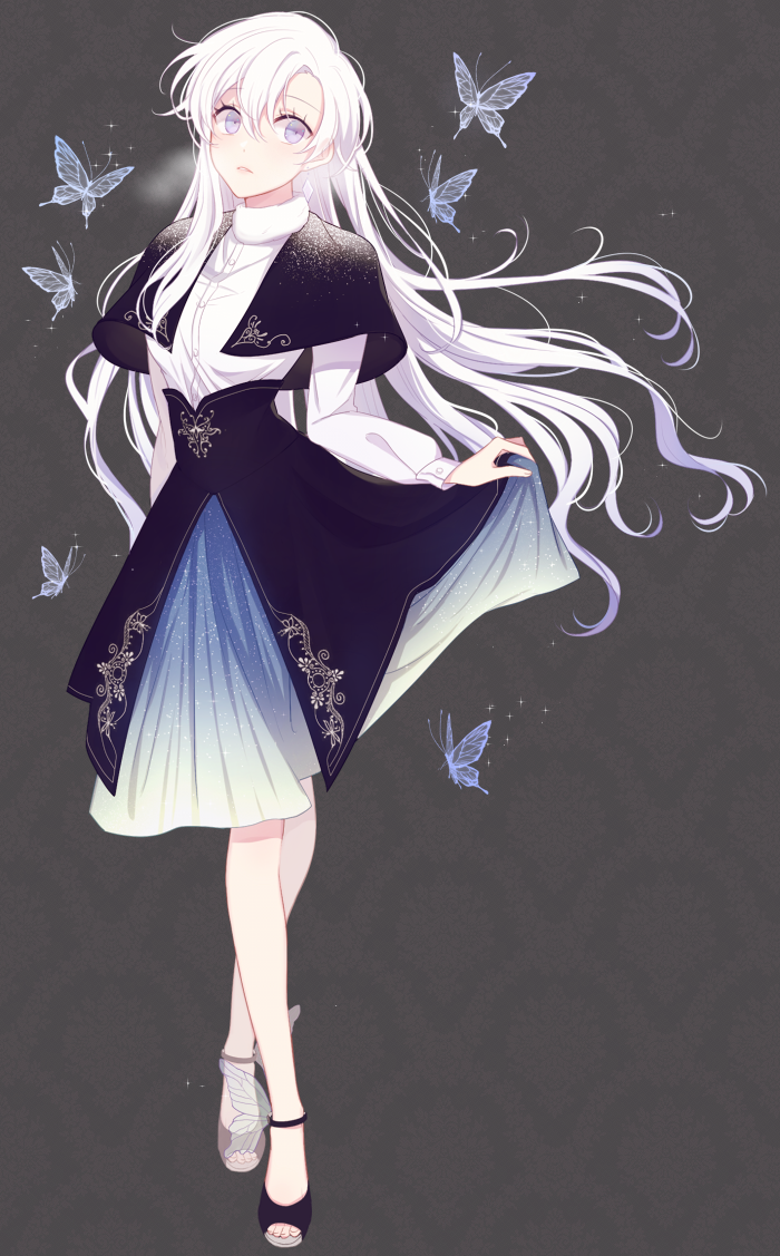 Winter Butterfly by ditdydit