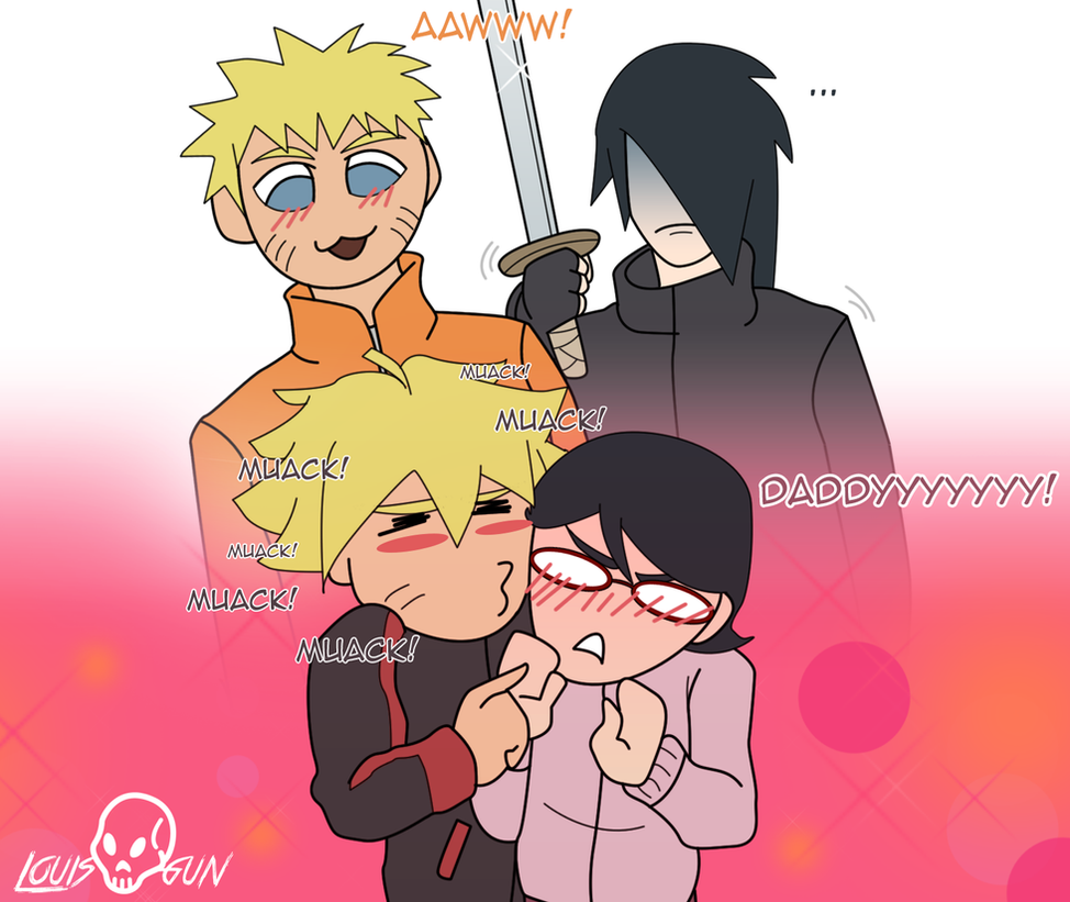 Sasuke, look it this! by LouisGun