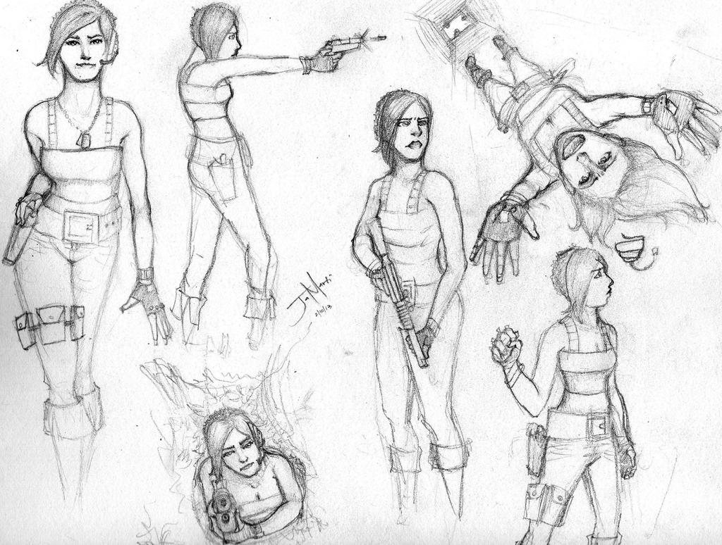 Concept 1 S Poses By Ja Sining On Deviantart