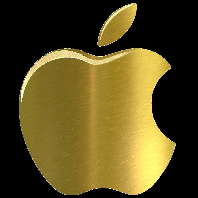 yellow apple logo - photo #12