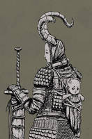 Armored mother by IvanMercenario