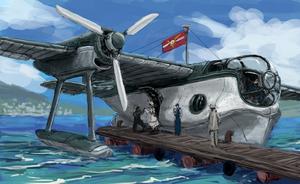 Seaplane by IvanMercenario