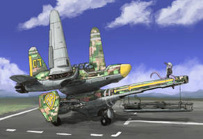 Close air support by IvanMercenario