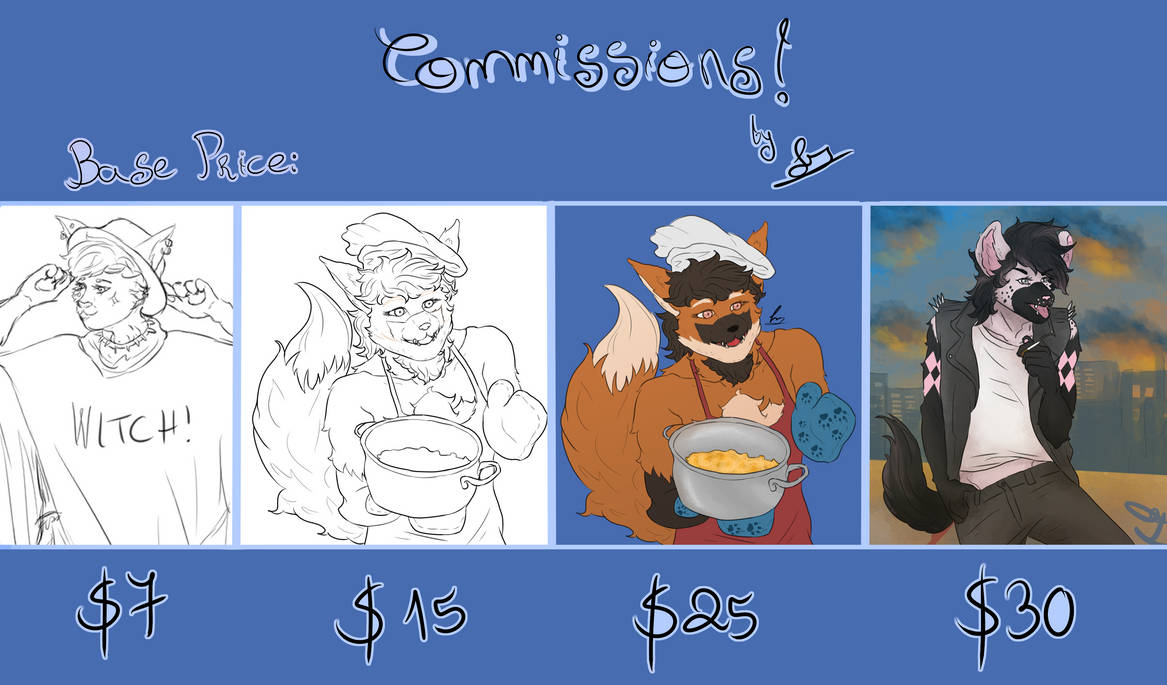 Custom Commissions Open!