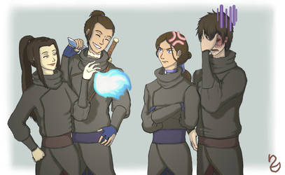 Ninja Siblings!