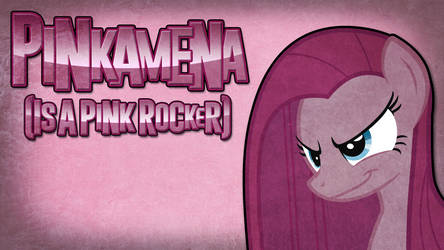 Cover Art - Pinkamena (Is A Pink Rocker)