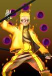 Boruto cover 38: Six Paths Naruto