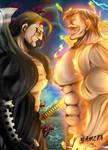 Nanatsu no Taizai 327: Demon King Vs Escanor by YametaStudio