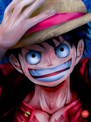 Captain of Straw Hat Pirates: Monkey D. Luffy