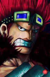Captain of Kid Pirates: Eustass Captain Kidd