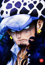 Captain of Heart Pirates: Trafalgar D. Water Law