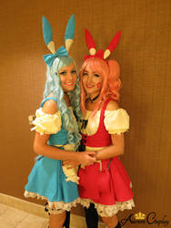 Plusle and Minun Cosplay from Pokemon Series