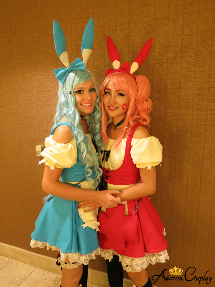 Plusle and Minun Cosplay from Pokemon Series by ...
