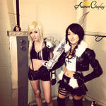 Akon 2013 Cosplay: Female Cloud and Femal...