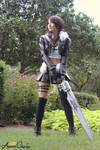 Female Squall Cosplay Final Fantasy 8 Dissidia