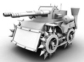 Steampunk Tank Test Render1