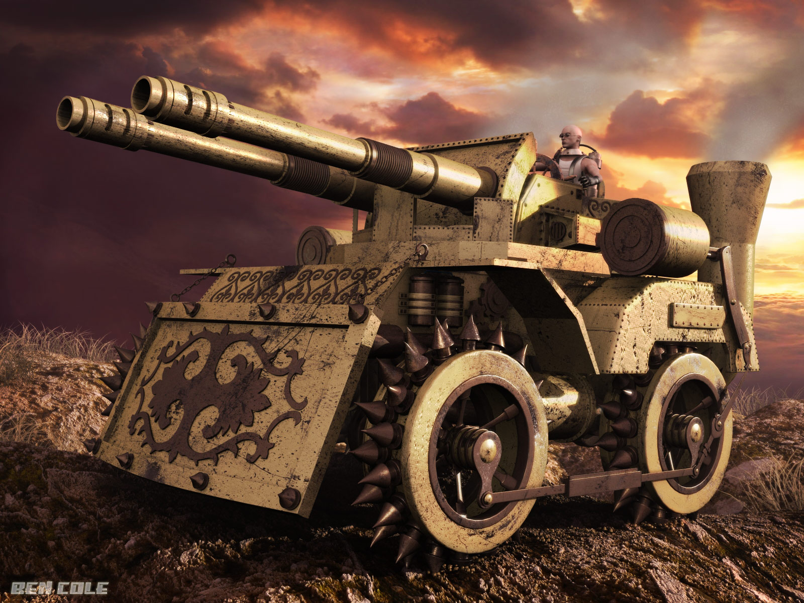 http://fc05.deviantart.com/fs40/f/2009/048/b/7/Steampunk_Tank_Final1_by_BenCole.jpg