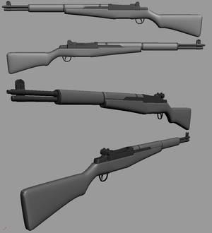 M1 Garand WIP1