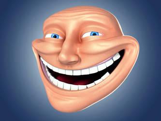 Trollface 3D