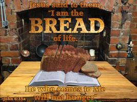 Jesus the Bread of Life by ServantofJesus