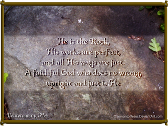 Jesus the Rock by ServantofJesus