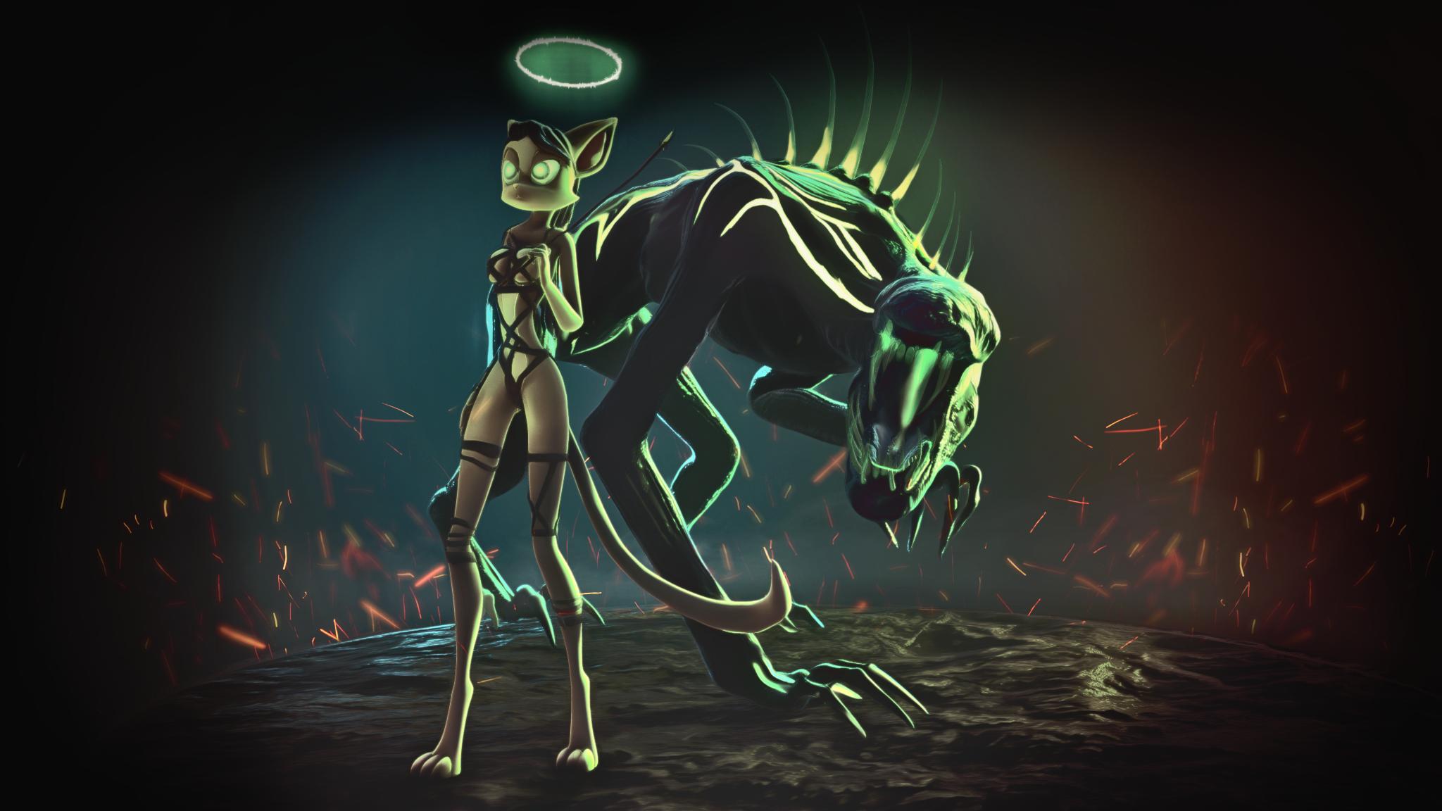 Dark Dreamkeeper by aeldred28