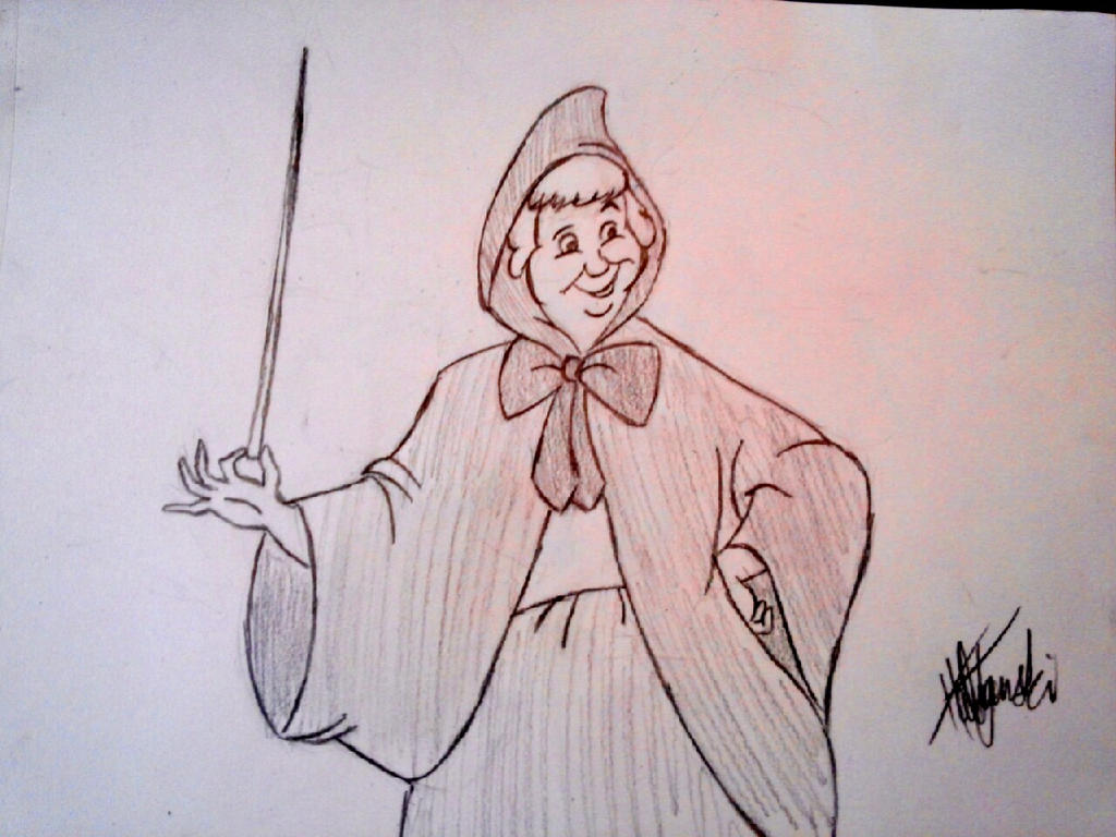 Fairy God Mother (Hard Sketch) by xGuruHaleyx