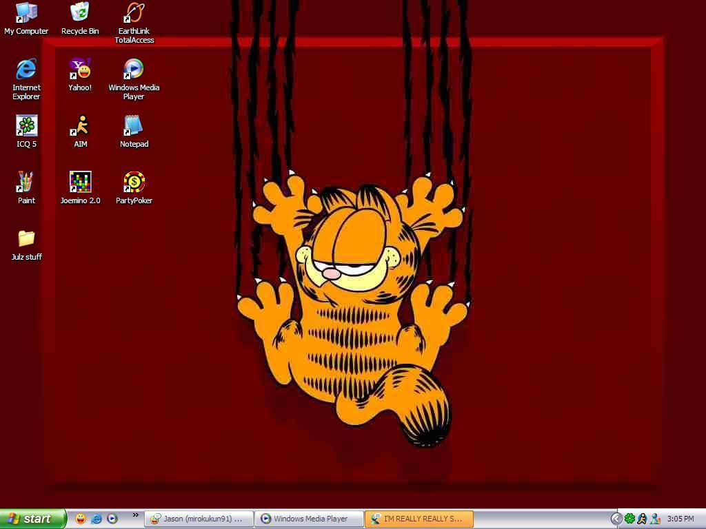 Garfield by jennadoggy